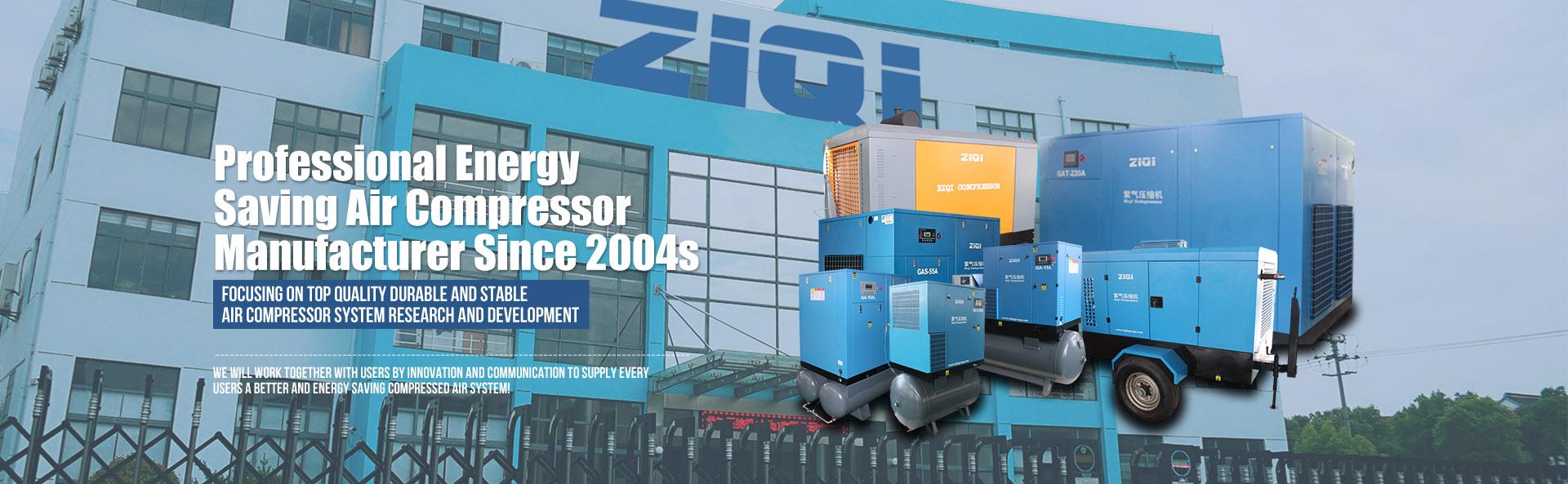 DENAIR Air Compressor Factory Image