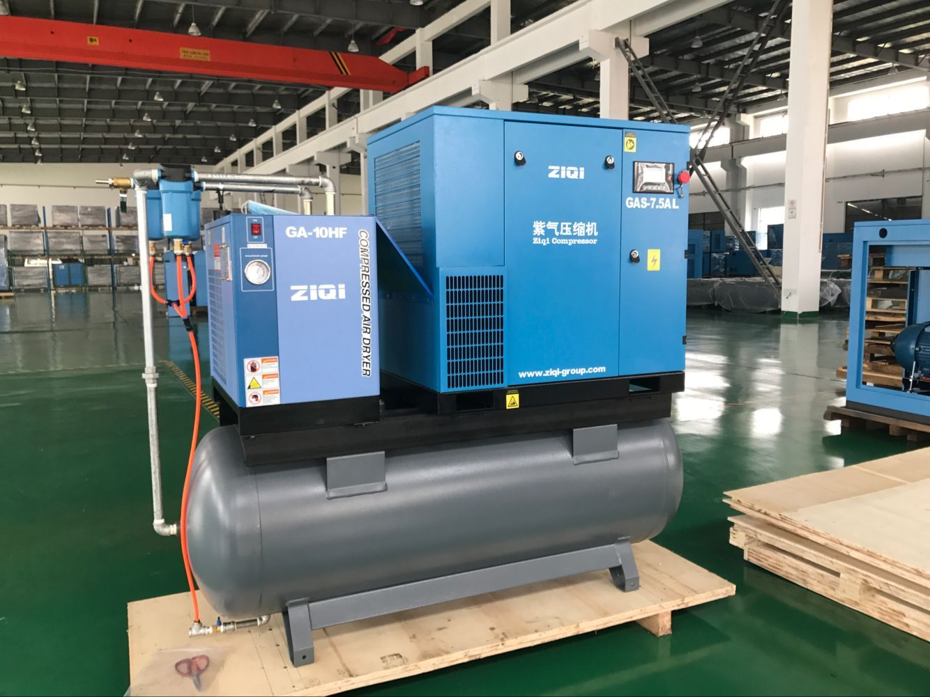 Air compressor is simple